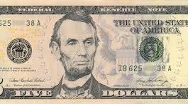 USA $5 Bills for sale