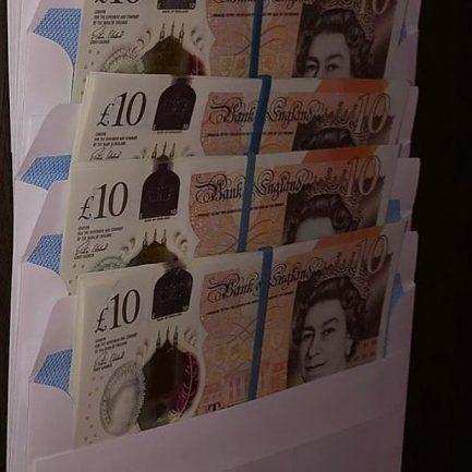 Buy GBP 10 Bills Online @ Topnotch Counterfeit Bills