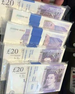 Buy fake GBP £20 Bills Online at best rates